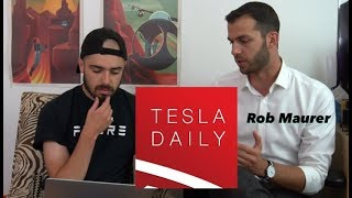 Tesla Privatization, Interview w/ Tesla Daily