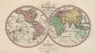 World Map (1842) Free Downloadable Image