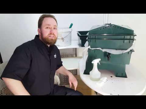 Profi Wurmfarm / Wurmzucht für Dendrobena - Mißtwürmer - Tauwürmer
