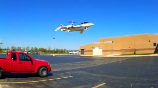Crash Test Boyz, E-Flite Convergence VTOL Switching Back and Forth Flight Modes