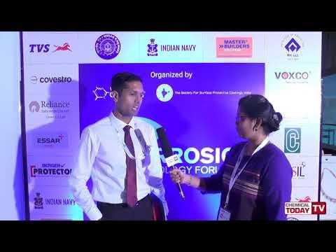 Commander Adil Mohideen, Indian Navy - Corrosion Technology Forum 2018