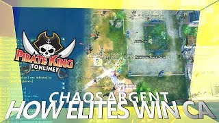 How Elites Win CA (Chaos Argent with Mic) { Pirate King Online } [ Tales of Pirates ]