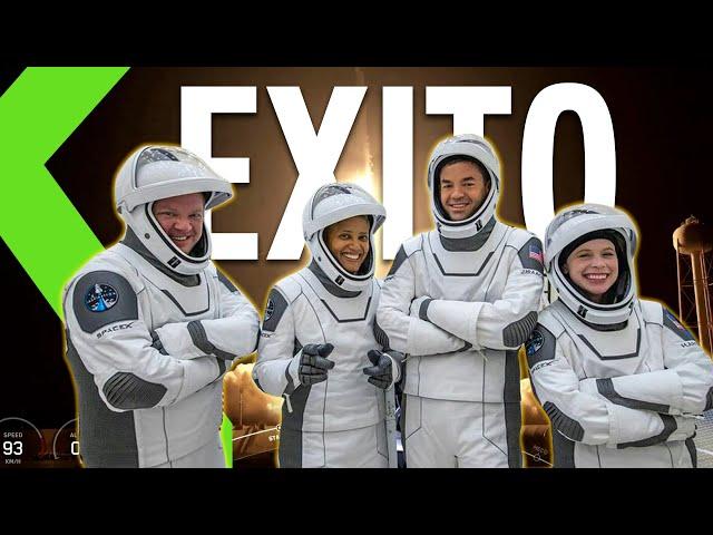 ¡SPACEX HACE HISTORIA! ÉXITO en la PRIMERA MISIÓN ESPACIAL TRIPULADA SIN ASTRONAUTAS