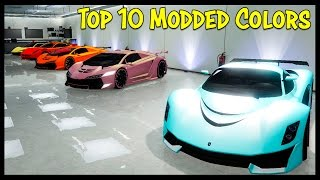 Top 10 Modded Paint Jobs in GTA Online!
