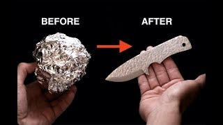 Turning Aluminium Foil into a Knife - Video Youtube
