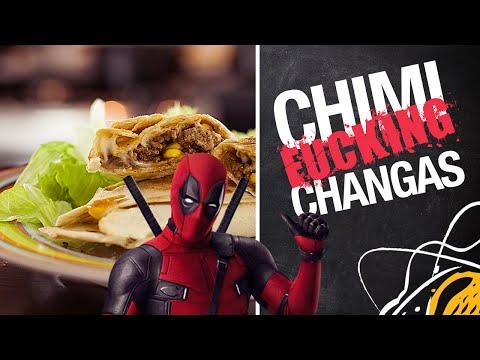 Chimichangas do Deadpool