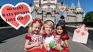 MANY WAYS TO SAY I LOVE YOU with CARSON LUEDERS, COLE & SAV,  EVERLEIGH & AVA