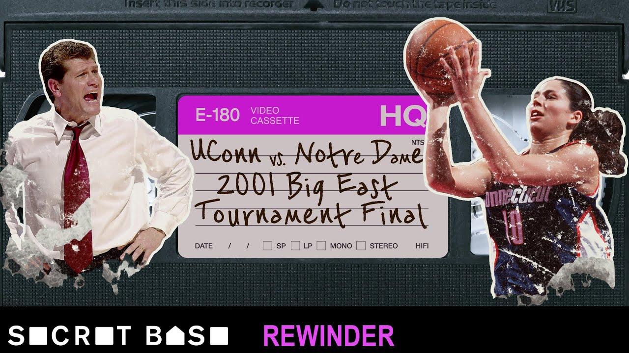Sue Bird's famous Big East Tournament buzzer-beater needs a deep rewind | 2001 UConn vs. Notre Dame thumbnail