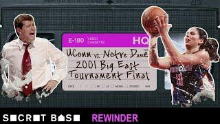 Sue Bird's famous Big East Tournament buzzer-beater needs a deep rewind   2001 UConn vs. Notre Dame thumbnail