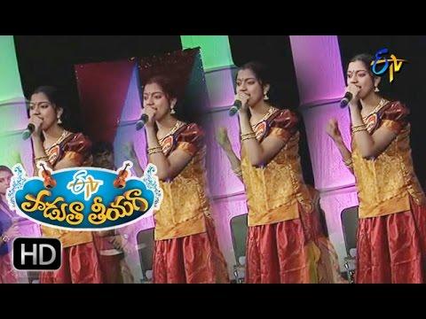 Pallavinchu-Tholi-Ragame-Song--Anukruthi-Performance-in-ETV-Padutha-Theeyaga--11th-April-2016