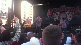 Further Seems Forever (original lineup w/ Chris Carrabba) -  The Bradley Live at Bamboozle 2011