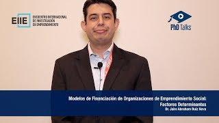 Modelos de Financiación de Organizaciones de Emprendimiento Social: Factores Determinantes