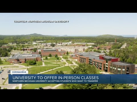 Northern Michigan University to offer in-person classes