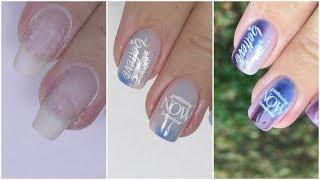 Дизайн с Термо Гель Лаком на Короткие Ногти для Начинающих