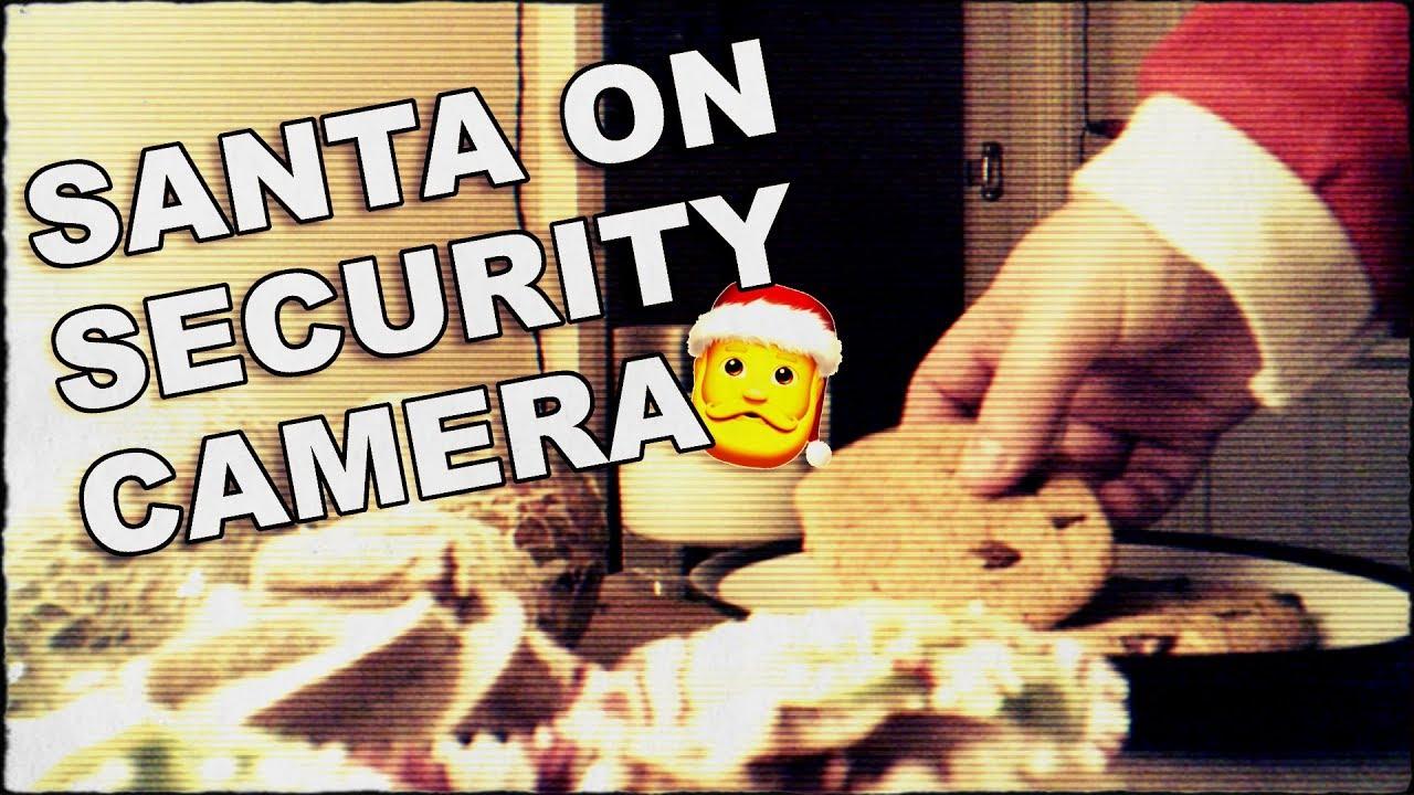 Santa Claus Caught On Hidden Security Camera