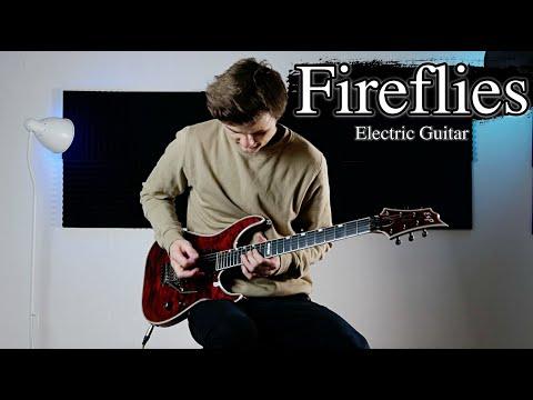 Fireflies - Owl City - Electric Guitar Cover