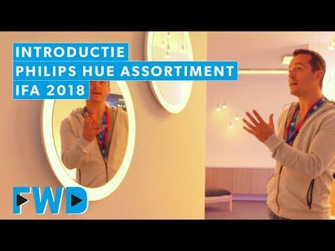 Introductie nieuw Philips Hue assortiment @IFA 2018 Berlijn