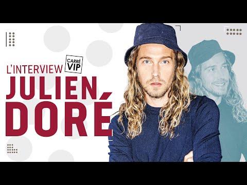 Interview Carré Vip Julien Doré filmé au Pont du Gard