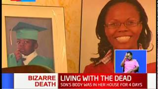 UoN lecturer detained after son's body was found decomposing at their South B house