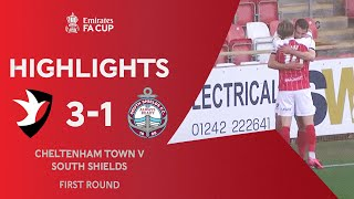 May Double Sends The Robins Through | Cheltenham Town 3-1 South Shields | Emirates FA Cup 2020-21