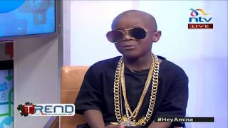 JUALA SUPERBOY(PART 2)-ONE ON ONE WITH AMINA ABDI(THE TREND NTV
