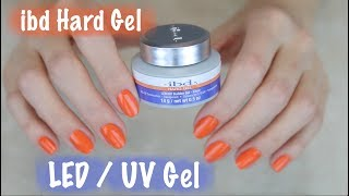 How To Apply IBD Hard Gel on Natural Nails - Part 1 of 2