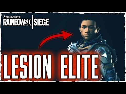 LESION ELITE SKIN - NEUES RANGSYSTEM | Rainbow Six Siege News [Deutsch/German]