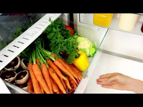 Miele Freestanding Fridge Freezer Frost Free KFN29243D-EDT - Cleansteel Video 1