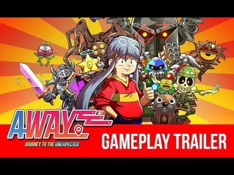 AWAY: Journey to the Unexpected - Gameplay Trailer thumbnail