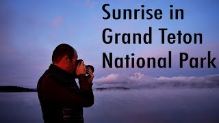Landscape Photography | Sunrise In Grand Teton National Park (with Infrared)