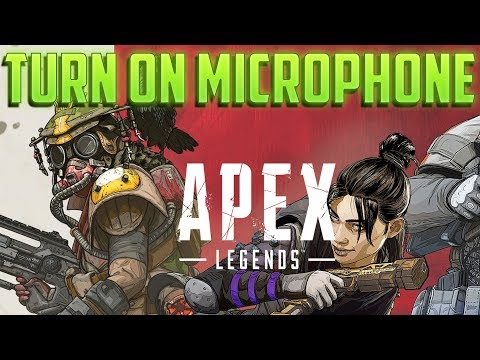 How Apex Legends Voice Chat Works! Turn on Microphone (QUICK!)