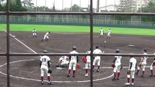 2018.9.15高校野球大阪桐蔭新チームシートノック