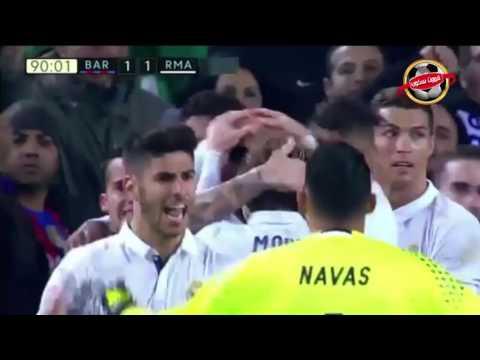 / 04-12-2016/ أهداف الكلاسيكو 1-1: سواريز و راموس