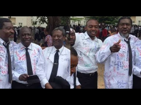 Actor Kanayo O. Kanayo Graduates From Law Department Of University Of Abuja (Photos & Video)