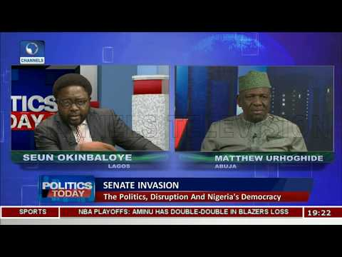 Mace Theft Has Brought Shame To Nigeria,Desecrated Democracy-- Urhoghide Pt.2 |Politics Today|