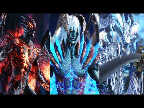Devil May Cry 5 - All Character Transformations (Dante, V, Nero, Vergil) DMC5 2019