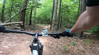 I'm a beginner in the game, and Swift Creek Trail System is a blast!