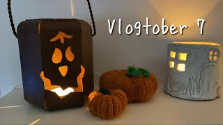 Daytime Baths & Early Halloween Decorations • Vlogtober Day 7
