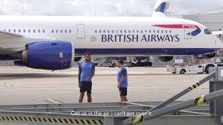 British Airways - A350 Meets England Rugby