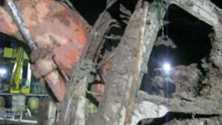 preview picture of video 'RESCATE DE EXCAVADORA'
