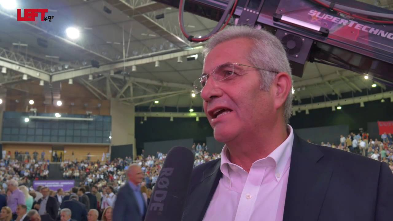 2ο συνέδριο του ΣΥΡΙΖΑ -Άντρος Κυπριανού (ΑΚΕΛ)