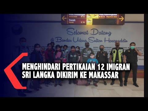 menghindari pertikaian imigran sri langka dikirim ke makassar