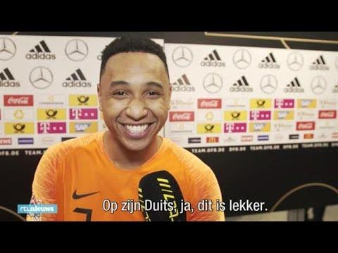 Oranjespelers: 'Op zijn Duits in Duitsland, ja, lekker' - RTL NIEUWS