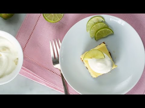 Key Lime Bars- Everyday Food with Sarah Carey