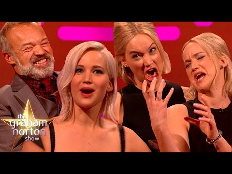 Jennifer Lawrence a hladoví Grahamové