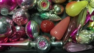 Новогодние игрушки 60-х СССР , положительные эмоции, ностальгия