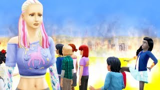 I made a Mother take care of 100 Children - The Sims 4