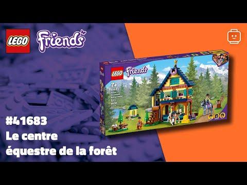 Vidéo LEGO Friends 41683 : Le centre équestre de la forêt