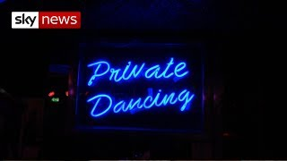 Strippers given right to form and join unions