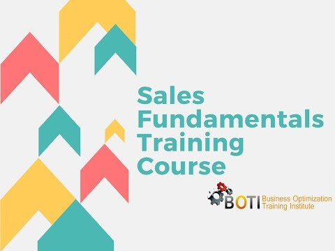 Sales Fundamentals Training Course - YouTube